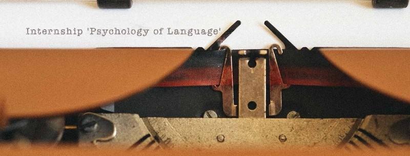"Internship ""Psychology of Language"""
